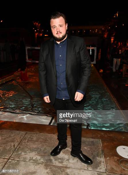 John Bradley at Entertainment Weekly's annual ComicCon party in celebration of ComicCon 2017 at Float at Hard Rock Hotel San Diego on July 22 2017 in...
