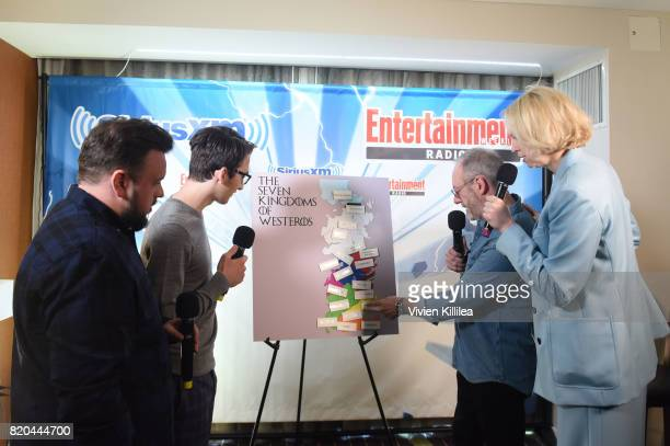 John Bradley Isaac Hempstead Wright Liam Cunningham and Gwendoline Christie attend SiriusXM's Entertainment Weekly Radio Channel Broadcasts From...