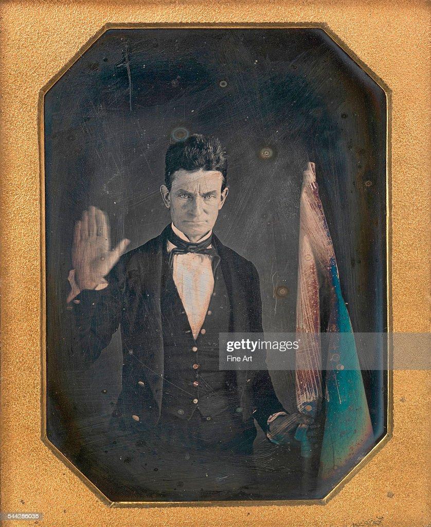 John Brown ¼ plate daguerreotype