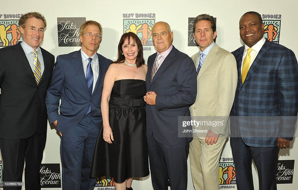 John C. McGinley, Greg Germann, H. Read Jackson, Genette Eaton, Gary Cole, and Rodney Peete attend the 'Saks Fifth Avenue And Best Buddies California Father's Day Honors' event at Saks Fifth Avenue Beverly Hills on June 15, 2010 in Beverly Hills, California.