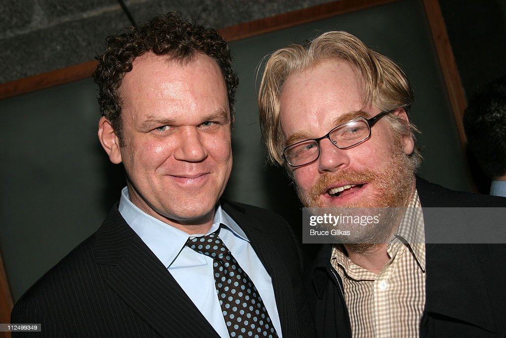 John C Reilly and Philip Seymour Hoffman who starred in 'True West ' together