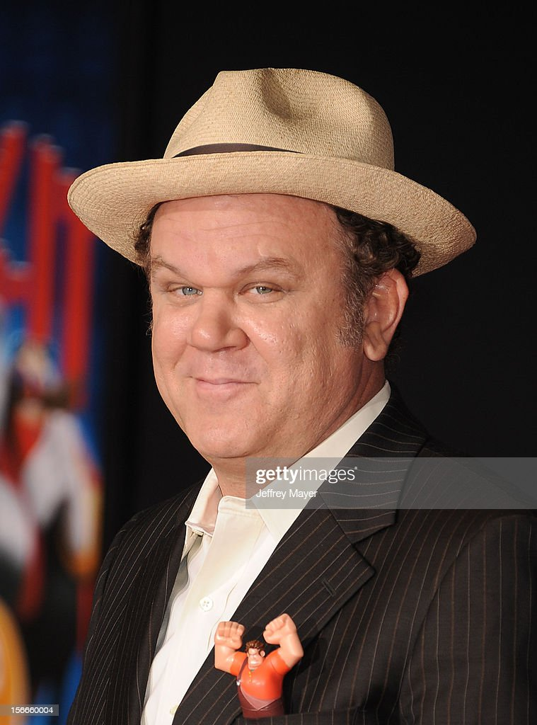 John C. Reilly arrives at the Los Angeles premiere of 'Wreck-It Ralph' at the El Capitan Theatre on October 29, 2012 in Hollywood, California.