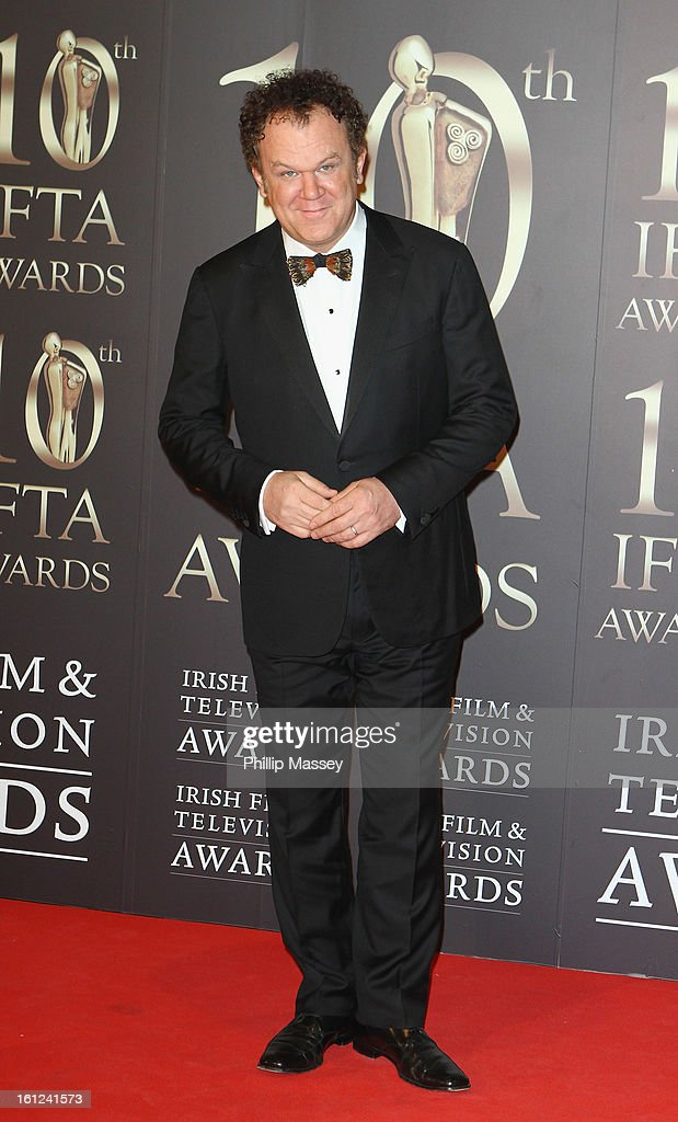 <a gi-track='captionPersonalityLinkClicked' href=/galleries/search?phrase=John+C.+Reilly&family=editorial&specificpeople=210786 ng-click='$event.stopPropagation()'>John C. Reilly</a> attends the Irish Film and Television Awards at the Convention Centre Dublin on February 9, 2013 in Dublin, Ireland.