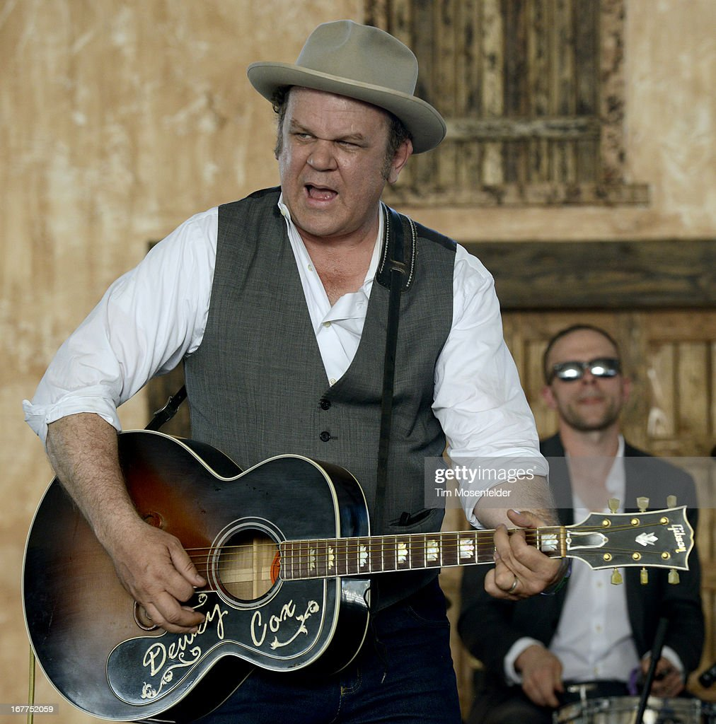 John C. Reilly of John Reilly and Friends performs as part of the Stagecoach Music Festival at the Empire Polo Grounds on April 28, 2013 in Indio, California.