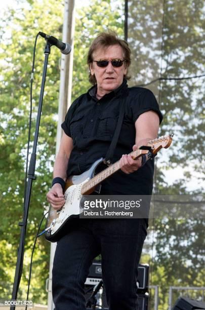 John Cafferty performs at the RocklandBergen Music Festival at German Masonic Park on June 24 2017 in Tappan New York