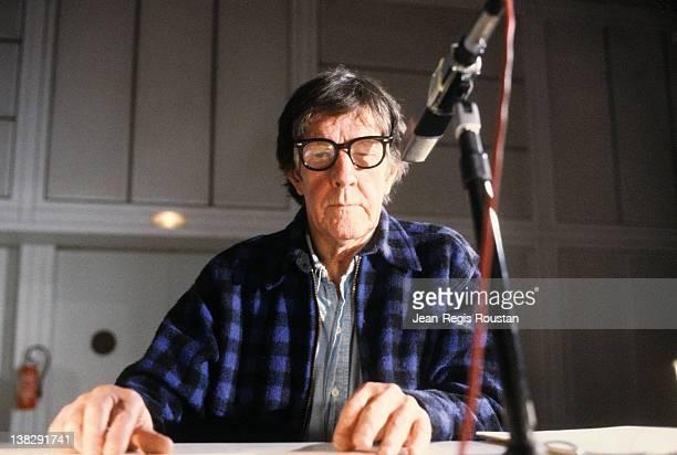 John Cage American composer 1981