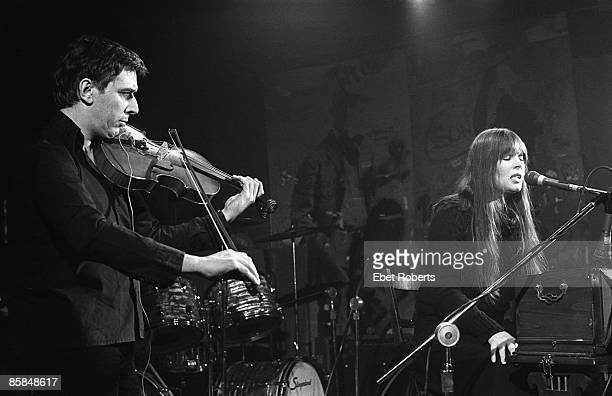 Photo of John CALE and NICO w/ John Cale