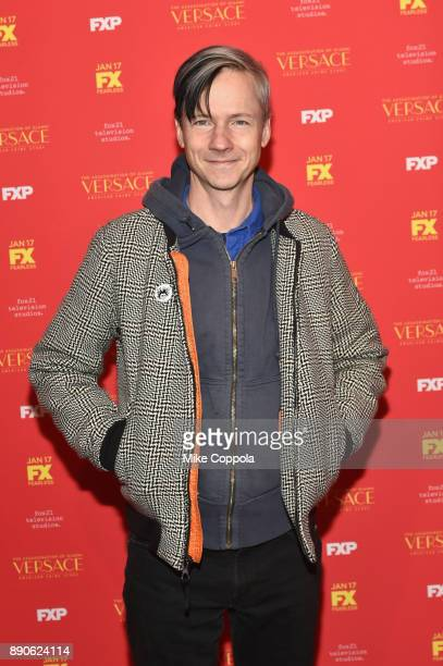 John Cameron Mitchell attends 'The Assassination Of Gianni Versace American Crime Story' New York Screening at Metrograph on December 11 2017 in New...