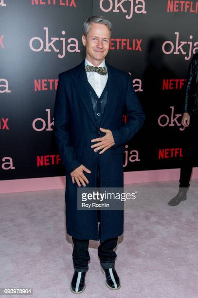 John Cameron Mitchell attends the New York premiere of 'Okja' at AMC Lincoln Square Theater on June 8 2017 in New York City