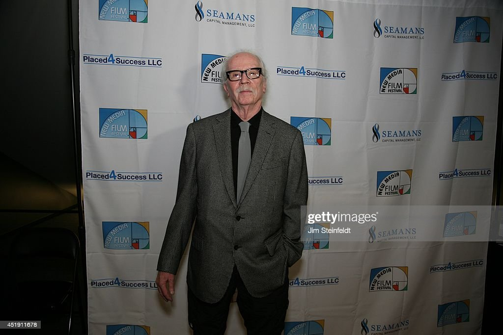 <a gi-track='captionPersonalityLinkClicked' href=/galleries/search?phrase=John+Carpenter&family=editorial&specificpeople=1243793 ng-click='$event.stopPropagation()'>John Carpenter</a>, film director, at the New Media Film Festival at the Landmark Theatre in Los Angeles, California on June 11, 2014.