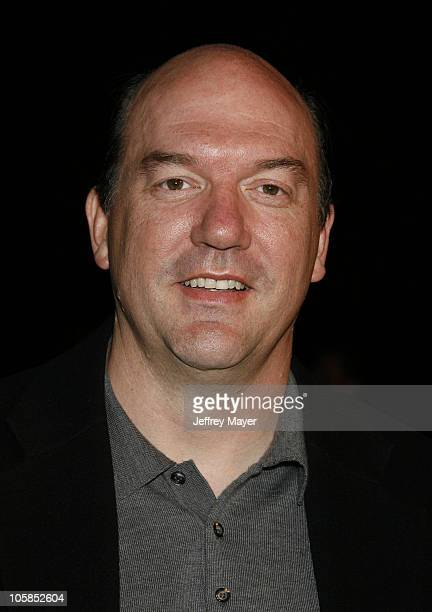John Carroll Lynch during 'Zodiac' Los Angeles Premiere Arrivals at Paramount Studios in Hollywood California United States