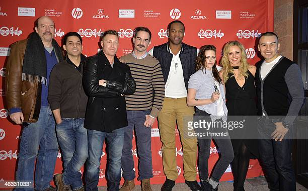 John Carroll Lynch Peyman Moaadi Lane Garrison Peter Sattler Ser'Darius Blain Kristen Stewart Tara Holt and Joseph Julian Soria attend the 'Camp...