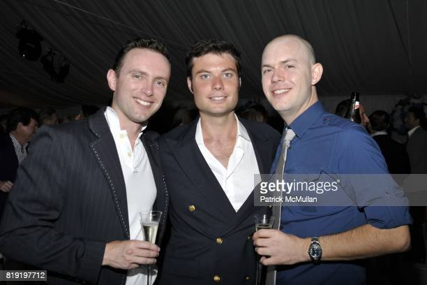 John Carson Joseph Miller and Gary attend QVC Style Initiative Dinner hosted by CEO Mike George at the home of Dennis Basso and partner Michael...