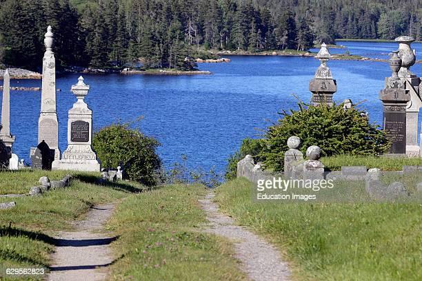 John Carver Cemetery Vinalhaven Island Maine New England USA