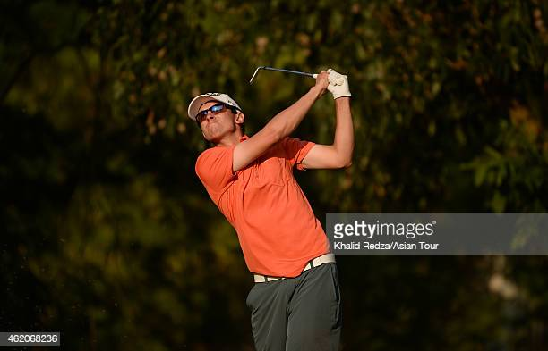 John Catlin of USA in action during round four of the Asian Tour Qualifying School presented by Sports Authority of Thailand at the Springfield Royal...