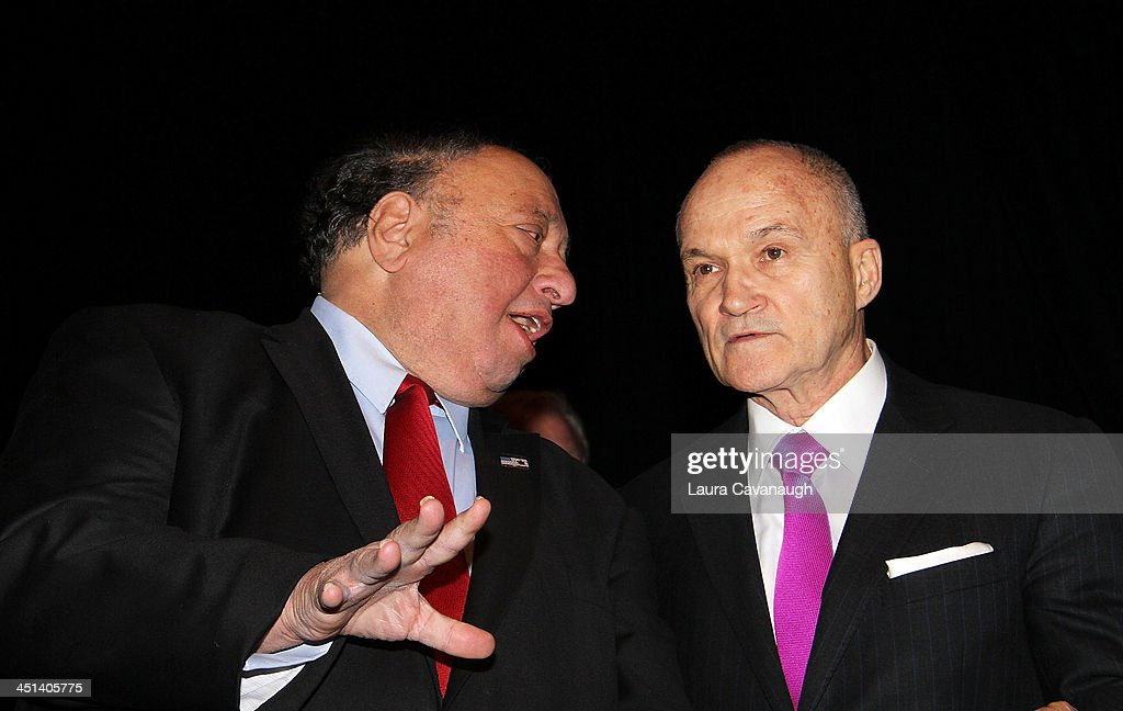 John Catsimatidis and Ray Kelly attend the 2013 Federal Law Enforcement Foundation Luncheon at The Waldorf=Astoria on November 22, 2013 in New York City.