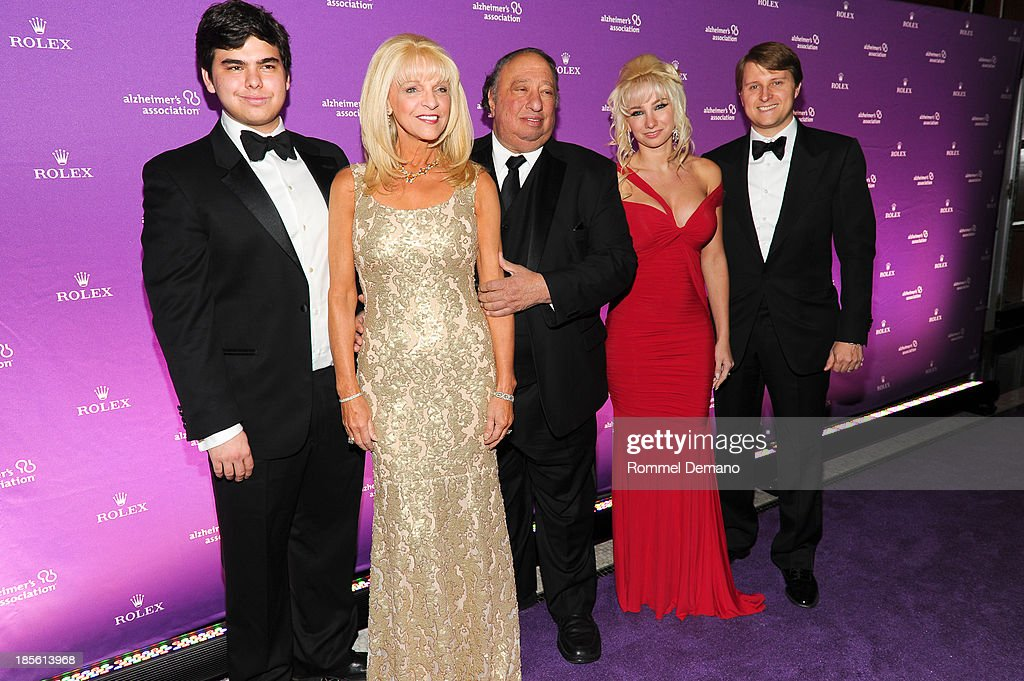 John Catsimatidis Jr., Margo Catsimatidis, John Catsimatidis, <a gi-track='captionPersonalityLinkClicked' href=/galleries/search?phrase=Andrea+Catsimatidis&family=editorial&specificpeople=6726745 ng-click='$event.stopPropagation()'>Andrea Catsimatidis</a> and <a gi-track='captionPersonalityLinkClicked' href=/galleries/search?phrase=Christopher+Nixon+Cox&family=editorial&specificpeople=6726746 ng-click='$event.stopPropagation()'>Christopher Nixon Cox</a> attend 2013 Alzheimer's Association Rita Hayworth 30th Anniversary gala at The Waldorf=Astoria on October 22, 2013 in New York City.