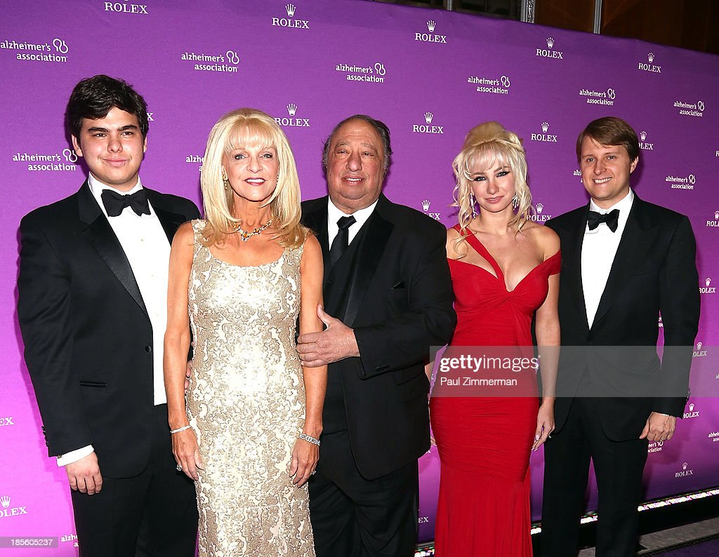 John Catsimatidis,Jr., Margo Catsimatidis, John Catsimatidis, <a gi-track='captionPersonalityLinkClicked' href=/galleries/search?phrase=Andrea+Catsimatidis&family=editorial&specificpeople=6726745 ng-click='$event.stopPropagation()'>Andrea Catsimatidis</a> and <a gi-track='captionPersonalityLinkClicked' href=/galleries/search?phrase=Christopher+Nixon+Cox&family=editorial&specificpeople=6726746 ng-click='$event.stopPropagation()'>Christopher Nixon Cox</a> attend 2013 Alzheimer's Association Rita Hayworth 30th Anniversary gala at The Waldorf=Astoria on October 22, 2013 in New York City.