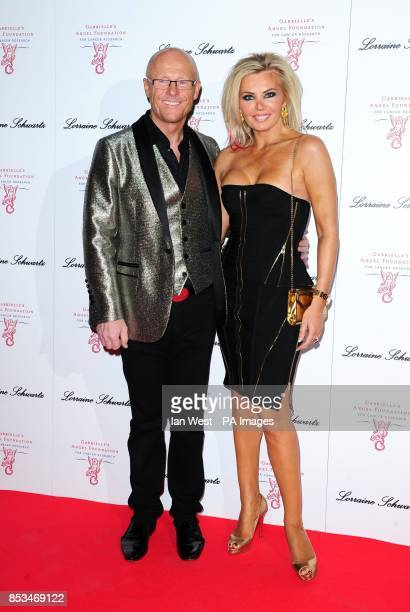 John Caudwell and Claire Johnson attending Gabrielle's Gala fundraiser for the Gabrielle's Angel Foundation at Old Billingsgate London