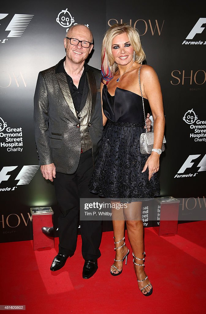 <a gi-track='captionPersonalityLinkClicked' href=/galleries/search?phrase=John+Caudwell&family=editorial&specificpeople=3005328 ng-click='$event.stopPropagation()'>John Caudwell</a> and guest attend The F1 Party in aid of the Great Ormond Street Children's Hospital at Victoria and Albert Museum on July 2, 2014 in London, England.