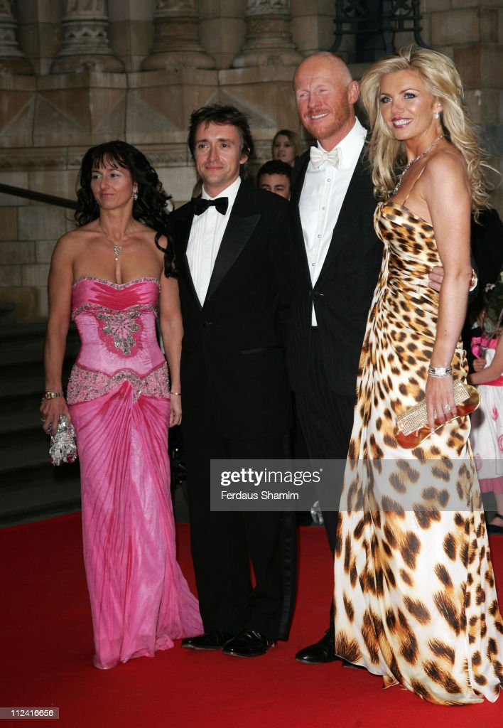 John Caudwell, <a gi-track='captionPersonalityLinkClicked' href=/galleries/search?phrase=Richard+Hammond&family=editorial&specificpeople=2540628 ng-click='$event.stopPropagation()'>Richard Hammond</a> and guests during The Bedrock Ball - Red Carpet Arrivals at Natural History Museum in London, Great Britain.