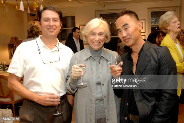 John Cavaliere Joanna Battaglia and Yong Bang attend The Opening of LARS BOLANDER'S New Showroom and Book Launch of SCANDINAVIAN DESIGN at Lars...