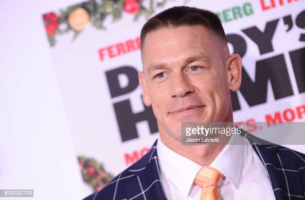 John Cena attends the premiere of 'Daddy's Home 2' at Regency Village Theatre on November 5 2017 in Westwood California