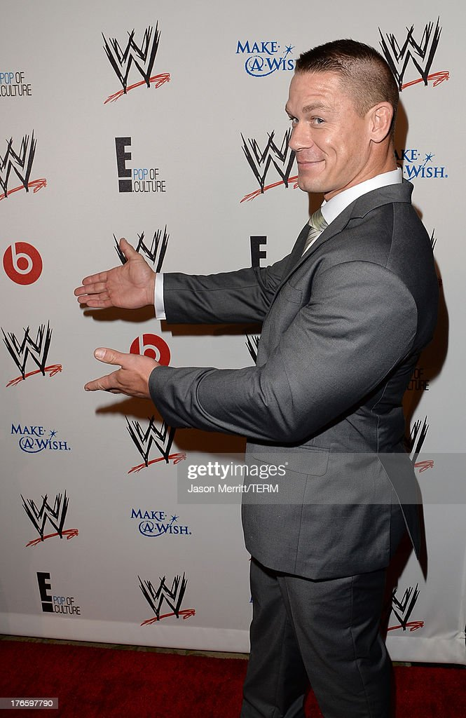 John Cena attends WWE & E! Entertainment's 'SuperStars For Hope' at the Beverly Hills Hotel on August 15, 2013 in Beverly Hills, California.