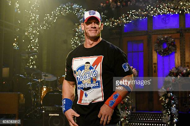 LIVE 'John Cena' Episode 1713 Pictured Host John Cena on December 6 2016