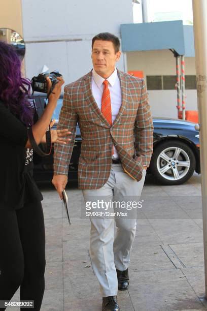 John Cena is seen on September 12 2017 in Los Angeles California