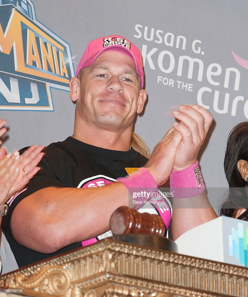 John Cena rings the NYSE Closing Bell at New York Stock Exchange on April 5, 2013 in New York City.