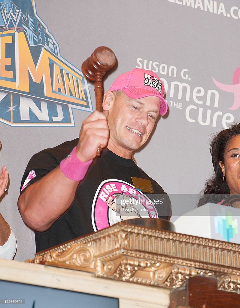 <a gi-track='captionPersonalityLinkClicked' href=/galleries/search?phrase=John+Cena&family=editorial&specificpeople=644116 ng-click='$event.stopPropagation()'>John Cena</a> rings the NYSE Closing Bell at New York Stock Exchange on April 5, 2013 in New York City.