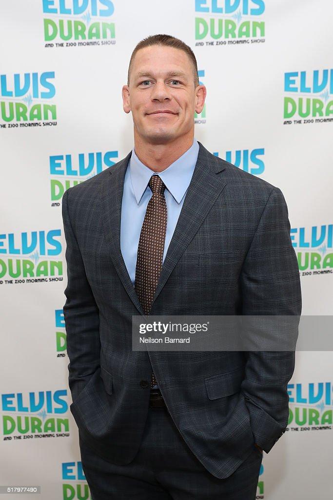 "John Cena Visits ""The Elvis Duran Z100 Morning Show"""
