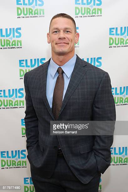John Cena visits 'The Elvis Duran Z100 Morning Show' at Z100 Studio on March 29 2016 in New York City