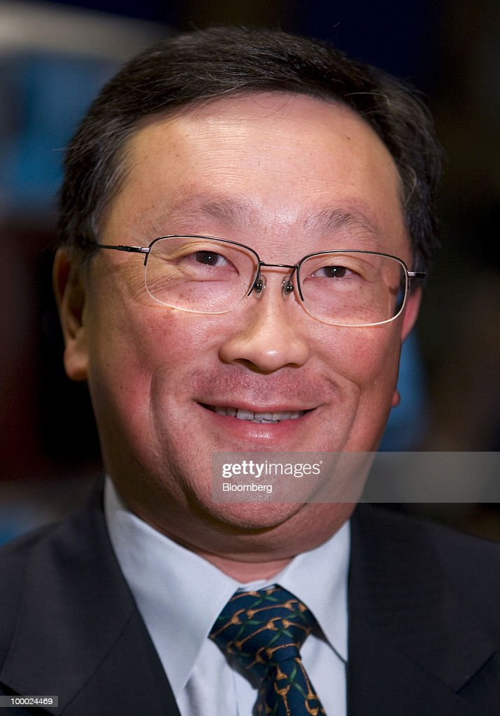 John Chen, chairman, chief executive officer and president of Sybase Inc., does an interview from the floor of the New York Stock Exchange in New York, U.S., on Thursday, May 20, 2010. Chen said in an interview with CNBC that he thinks the deal with SAP AG will 'get done.' Photographer: Jin Lee/Bloomberg via Getty Images