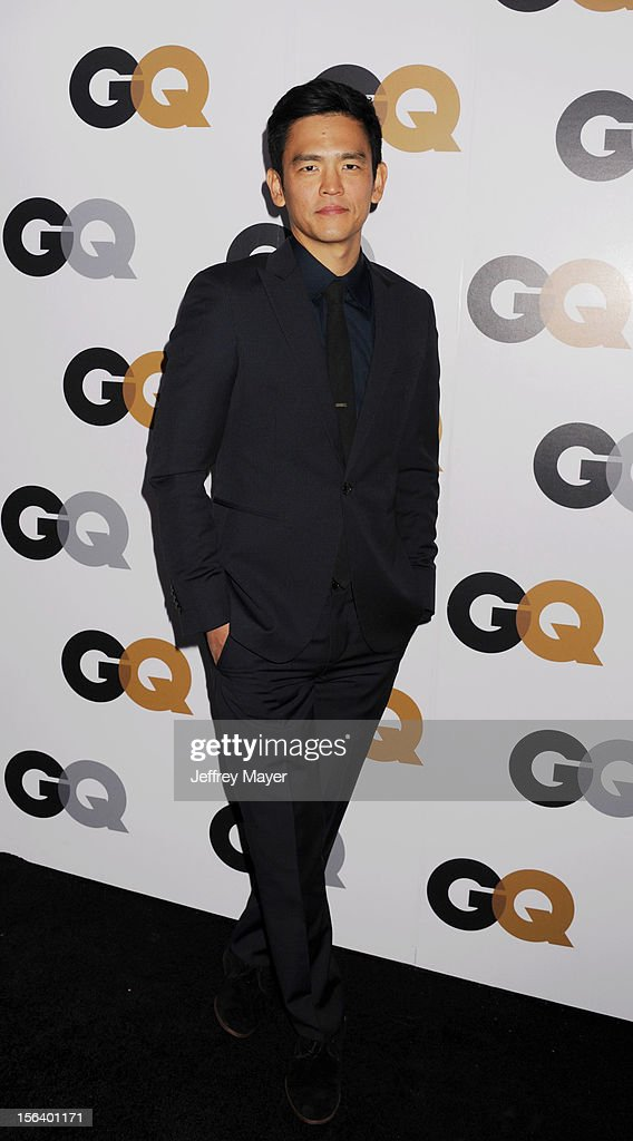 John Cho arrives at the GQ Men Of The Year Party at Chateau Marmont Hotel on November 13, 2012 in Los Angeles, California.