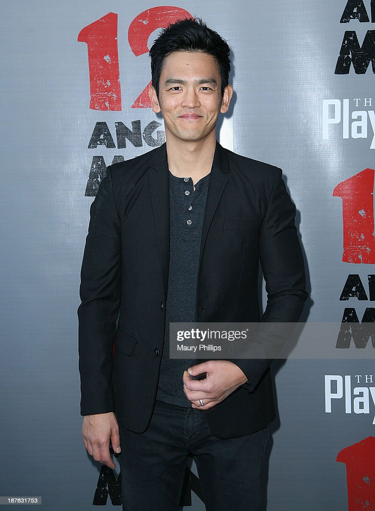 <a gi-track='captionPersonalityLinkClicked' href=/galleries/search?phrase=John+Cho&family=editorial&specificpeople=206258 ng-click='$event.stopPropagation()'>John Cho</a> attends '12 Angry Men' at the Pasadena Playhouse on November 10, 2013 in Pasadena, California.