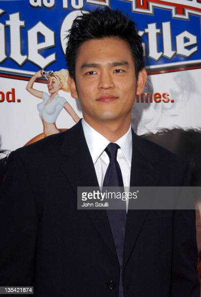 John Cho during 'Harold Kumar Go to White Castle' Los Angeles Premiere Red Carpet at Mann Chinese Theatre in Hollywood California United States