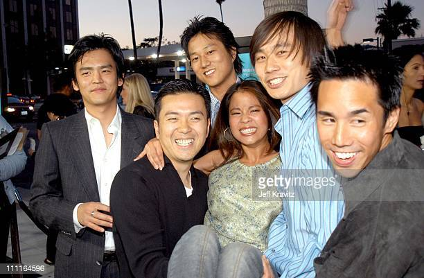 John Cho Justin Lin Karin Anna Cheung Roger Fan and Parry Shen