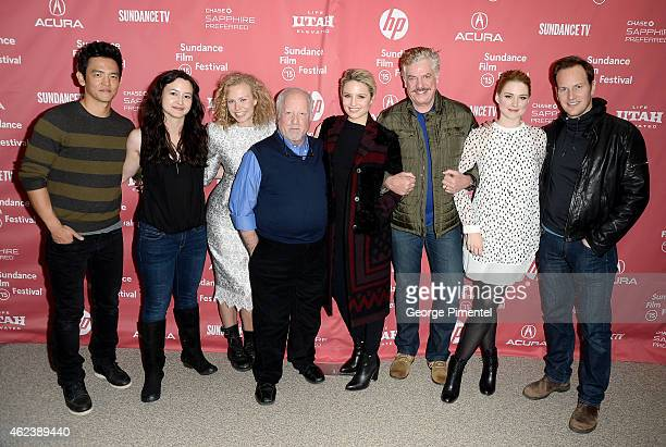 John Cho Mora Stephens Penelope Mitchell Richard Dreyfuss Dianna Agron Christopher McDonald Alexandra Breckenridge and Patrick Wilson attend the...
