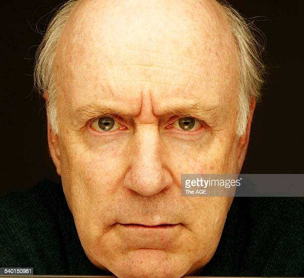 John Clarke for the guide Showbiz personalities 27 May 2004 THE AGE NEWS Picture by SIMON SCHLUTER