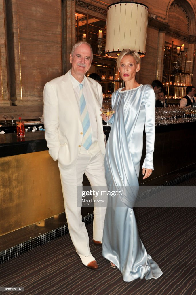 John Cleese and Jennifer Wade attend the Tiffany & Co. and Warner Brothers special screening of The Great Gatsby on May 15, 2013 in London, England.