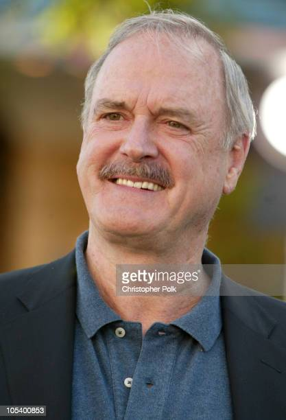 John Cleese during 'Shrek 2' Los Angeles Premiere Arrivals at Mann Village in Westwood California United States