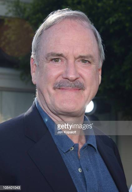 John Cleese during 'Shrek 2' Los Angeles Premiere Green Carpet at Mann Village Theatre in Westwood California United States