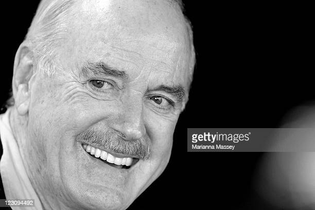 John Cleese during the announcement of the start of the very first Just for Laughs at Sydney Opera House on August 31 2011 in Sydney Australia