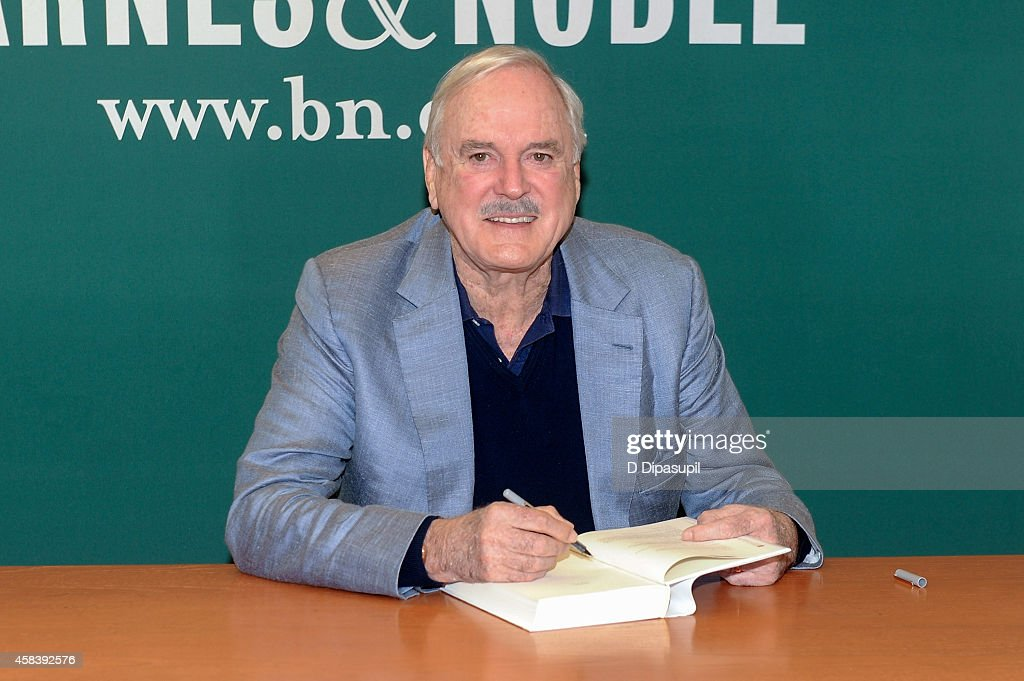 "John Cleese Signs Copies Of His Book ""So, Anyway"""