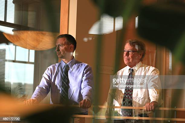 Boulder CO JUNE John Clune and Baine Kerr stand for a photograph in their offices in Boulder Colorado on Wednesday June 10 2015 Story info Attorneys...