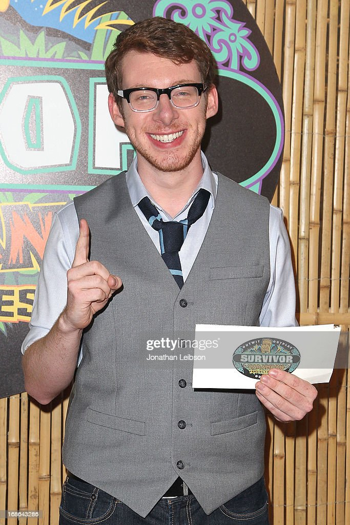 John Cochran attends the 'Survivor: Caramoan Fans VS Favorites' Finale And Reunion at CBS Studios - Radford on May 12, 2013 in Studio City, California.