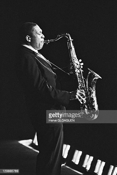 John Coltrane in Paris France in 1963 John Coltrane Jazzman Olympia