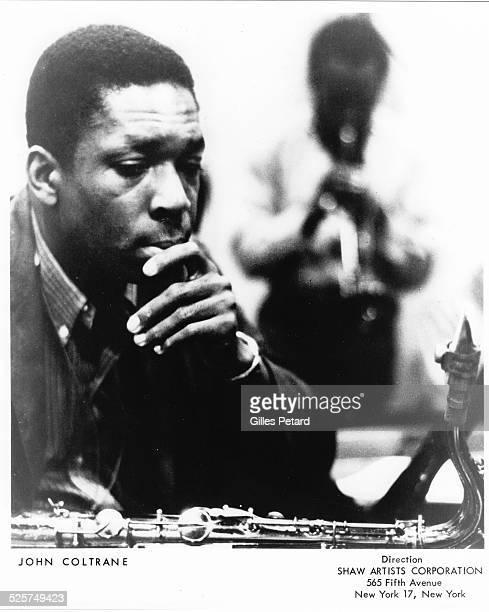 John Coltrane studio portrait USA 1962